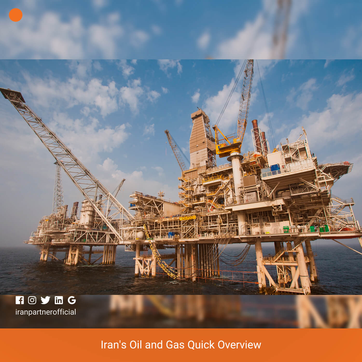 Iran's Oil and Gas Quick Overview